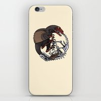 bouletcorp iPhone & iPod Skins featuring Ouroboros by Bouletcorp