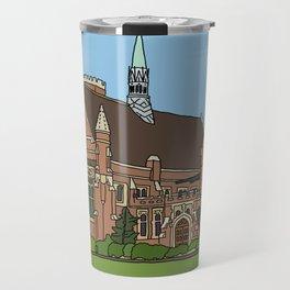 Cambridge struggles: Homerton College Travel Mug