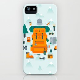 Adventuring iPhone Case