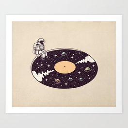 Cosmic Sound Art Print