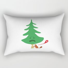 What Beavers Love Rectangular Pillow