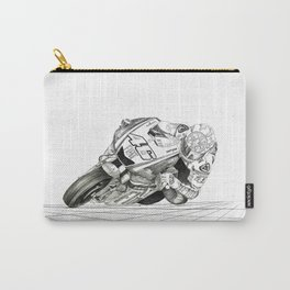 The Bike Hand Sketched Carry-All Pouch