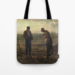 The Angelus by Jean Francois Millet Tote Bag
