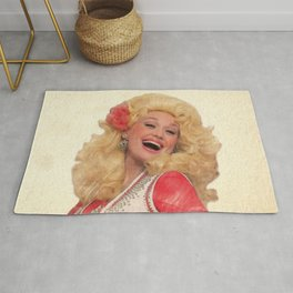 Dolly Parton - Watercolor Rug