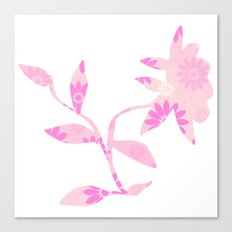 Pinky flower Canvas Print