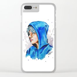 Taehyung watercolor BTS Clear iPhone Case