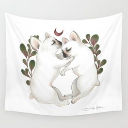 Piggy & Polly Wall Tapestry