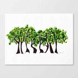 Spring Sculptures Canvas Print