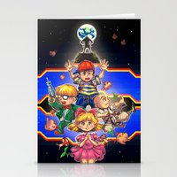 earthbound Stationery Cards featuring Welcome to Earthbound by kichisu