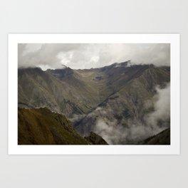 Boulder Gulch - Silverton, CO Art Print