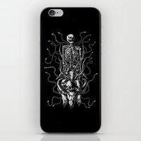 bondage iPhone & iPod Skins featuring Cruel bondage by sebrodbrick