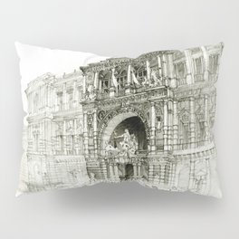 Roma palazzo Pillow Sham