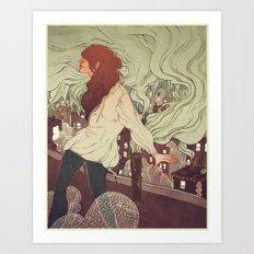 Pollutants Art Print