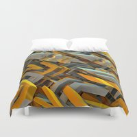 transformer Duvet Covers featuring Transformer Fish by Kunstbehang / Edwin van Munster