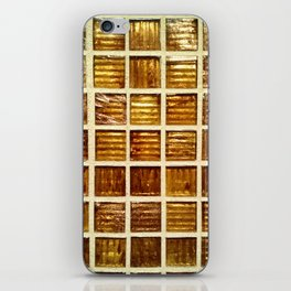 Thee Gold Tiles iPhone Skin