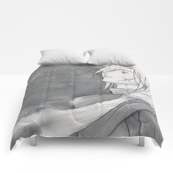 Gremio's Death - Suikoden - Tenei Star [ Only for real NERD ] Comforters
