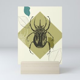Beetle colors Mini Art Print