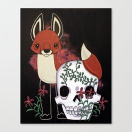 Fox and Fate Canvas Print