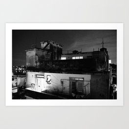 Old Havana, Cuban Apartments  Art Print