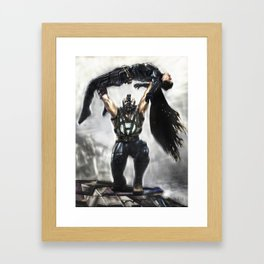 Knightfall Framed Art Print