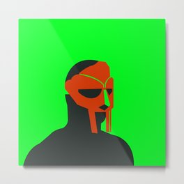 MF Doom vector art Metal Print