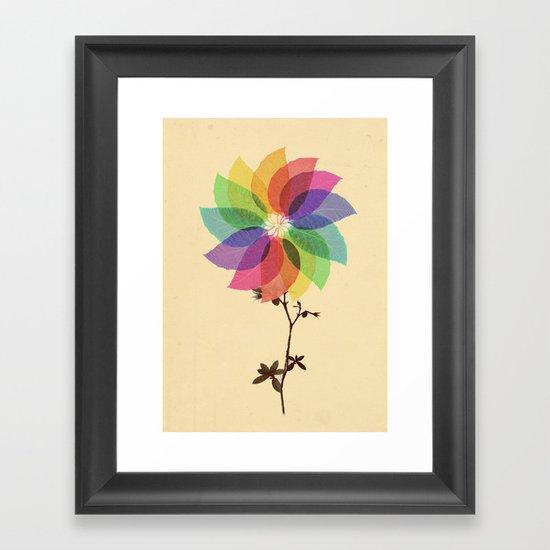 The windmill in my mind Framed Art Print