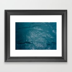 The Sea Framed Art Print