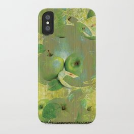 Fine Art of The Sense of Green Life! iPhone Case