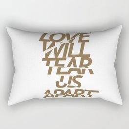 LOVE WILL TEAR US APART #GOLD Rectangular Pillow