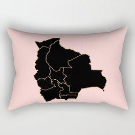 Bolivia map Rectangular Pillow