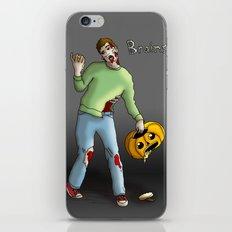 Brains? iPhone & iPod Skin