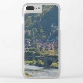 Moselle River and Trier Clear iPhone Case