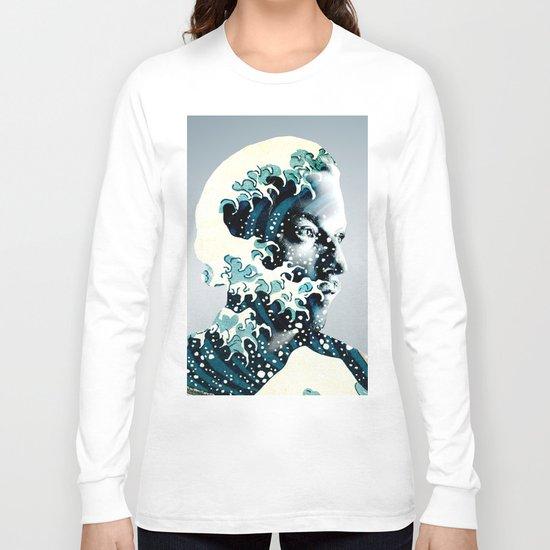 James Johnston Wave Long Sleeve T-shirt
