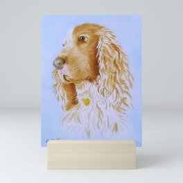 Best Bud Cocker Spaniel Mini Art Print