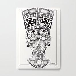 Queen of Egypt Metal Print
