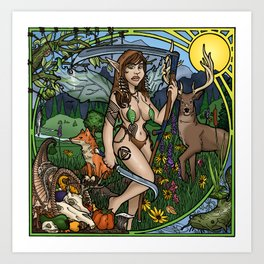 Natural Order Fairy Art Print