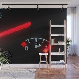 Fuel Gauge, Full Tank, Car Fuel Display Wall Mural