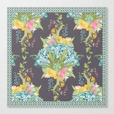 Lily Bouquet Canvas Print