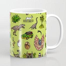 Jurassic pattern lighter Coffee Mug