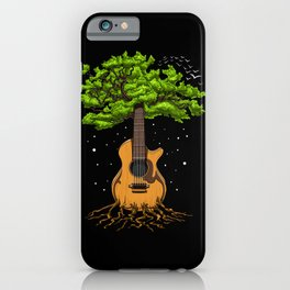 Acoustic Guitar Tree Of Life iPhone Case