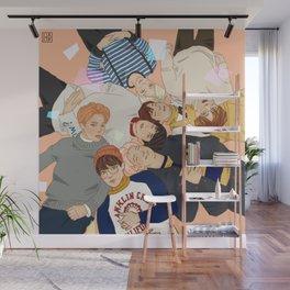 BTS - group Wall Mural