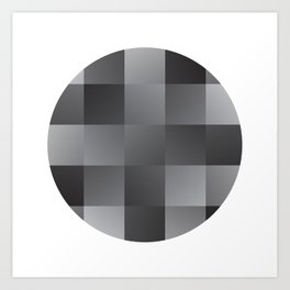 Abstract Squares Art Print