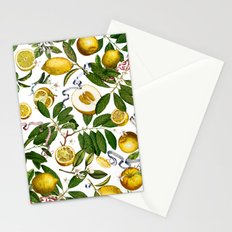 LEMON TREE White Stationery Cards