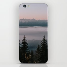 Faraway Mountains - Landscape and Nature Photography iPhone Skin