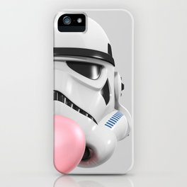 Stormtrooper Bubble Gum 02 iPhone Case