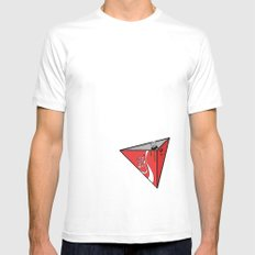 COLA CAN MEDIUM Mens Fitted Tee White
