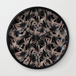 CHANGE #4 #drawing #pattern #decor #art #society6 Wall Clock
