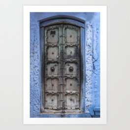 Doors Of Rajasthan IV Art Print