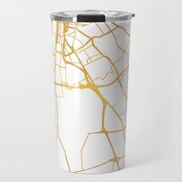 LOUISVILLE KENTUCKY CITY STREET MAP ART Travel Mug