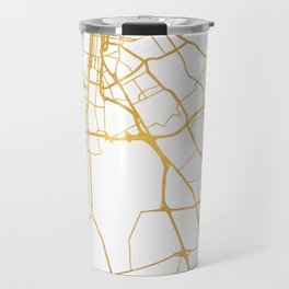LOUISVILLE KENTUCKY CITY STREET MAP ART Travel Mug
